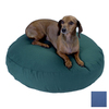 Snoozer Royal Blue Polyester/Cotton Round Dog Bed