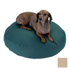 Snoozer Khaki Polyester/Cotton Round Dog Bed