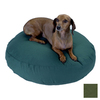 Snoozer Olive Polyester/Cotton Round Dog Bed