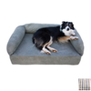 Snoozer Colonial Plaid Rectangular Dog Bed