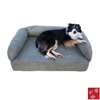 Snoozer Prairie Red Rectangular Dog Bed