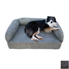 Snoozer Black Rectangular Dog Bed