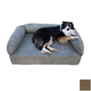 Snoozer Dark Chocolate Rectangular Dog Bed