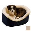 Snoozer Khaki Poly Cotton Oval Dog Bed