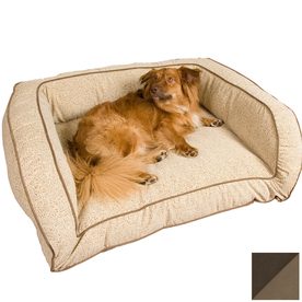 Snoozer Hot Fudge/Cafe Microsuede Rectangular Dog Bed 75193