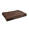 Snoozer Brown Polyester Rectangular Dog Bed