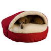 Snoozer Medium Blue Poly Cotton Round Dog Bed