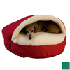 Snoozer Holly Poly Cotton Round Dog Bed