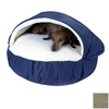 Snoozer Herringbone Microsuede Round Dog Bed