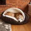 Snoozer Hot Fudge Microsuede Round Dog Bed