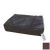 Snoozer Brown Rectangular Dog Bed