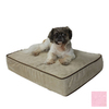 Snoozer Pink Microsuede Rectangular Dog Bed