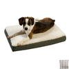 Snoozer Black/Colonial Plaid Polyester/Cotton Rectangular Dog Bed