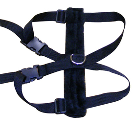 Snoozer Black Dog Harness