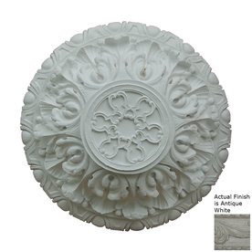 Hickory Manor House Deep Acanthus Antique White Ceiling Fan Medallion