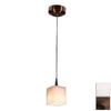 Access Lighting 3-in W Tungsten Bronze Mini Pendant Light with Shade