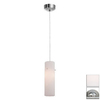 Access Lighting 3-in W Tungsten Brushed Steel Mini Pendant Light with Shade