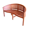 Jordan Manufacturing 59.4-in L Painted Wood Patio Bench