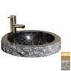 Allstone Kitchen and Bath Natural Stone Round Vessel Sink