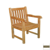 Jewels of Java English Garden Teak Patio Chair with Cushion
