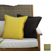 Hospitality Rattan 2-Piece 27-in W x 15-in L Patriot Kiwi Rectangular Decorative Pillow