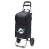 Picnic Time 15-Quart Miami Dolphins Wheeled Polyester Cart Cooler
