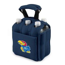 Picnic Time 120-fl oz Kansas Jayhawks Neoprene Bag Cooler