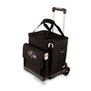 Picnic Time Baltimore Ravens Wheeled Polyester Cart Cooler
