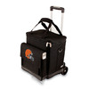 Picnic Time Cleveland Browns Wheeled Polyester Cart Cooler