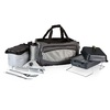 Picnic Time Vulcan Coastal Carolina Chanticleers 164 Sq.-in Portable Gas Grill and Cooler with Embroidered Case