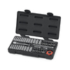 KD Tools Standard (SAE) and Metric Mechanic's Tool Set with Hard Case (51-Piece)