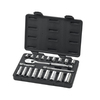 KD Tools Standard (SAE) Mechanic's Tool Set with Hard Case (21-Piece)