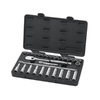 KD Tools 28-Piece Metric Mechanic's Tool Set with Case Case Included