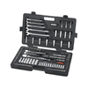 KD Tools Standard (SAE) and Metric Mechanic's Tool Set with Hard Case (118-Piece)