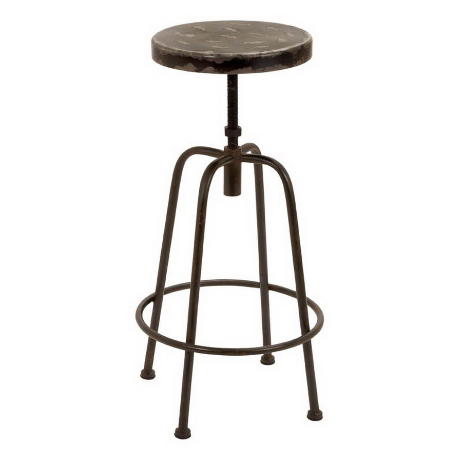 Shop Woodland Imports 32 In Bar Stool At Lowes Com