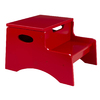 KidKraft Red 2-Step Wood Kids Step Stool