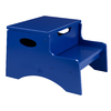 KidKraft Blue 2-Step Wood Kids Step Stool