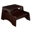 KidKraft Espresso 2-Step Wood Kids Step Stool