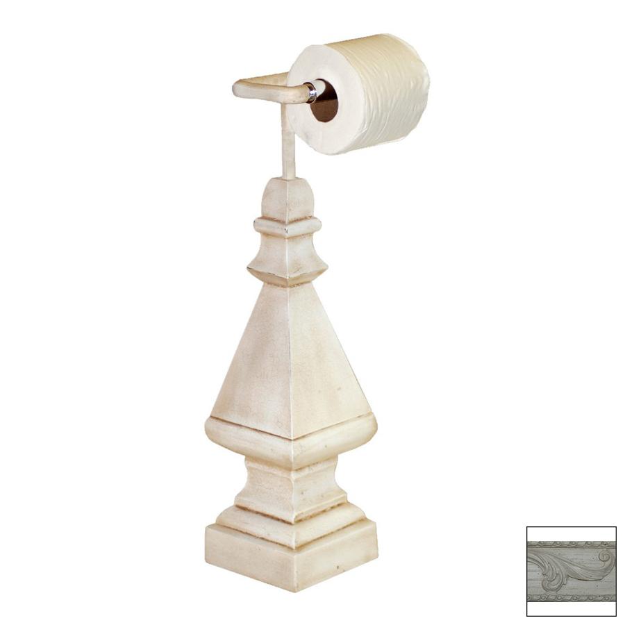 Countertop Toilet Paper Holder : ... Antique White Freestanding Countertop Toilet Paper Holder at Lowes.com