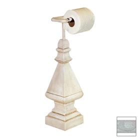 Countertop Toilet Paper Holder : ... Bright White Freestanding Countertop Toilet Paper Holder at Lowes.com