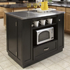Home Styles 42-in L x 24 1/4-in W x 36-in H Black Kitchen Island