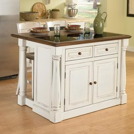 In w x 36 in h distressed antique white kitchen island at lowes com
