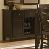 Homelegance Crown Point Merlot Rectangular Sideboard