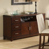Homelegance Elmhurst Brown Cherry Rectangular Sideboard