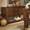 Homelegance Fusion Dark Oak Rectangular Sideboard