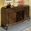 Somerton Home Furnishings Marin Warm Brown Rectangular Buffet