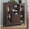 Somerton Home Furnishings Enchantment Natural Walnut Rectangular Sideboard