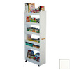Venture Horizon Man Pantry White Rectangular Bakers Rack