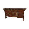 Oriental Furniture Rich Brown Rectangular Buffet