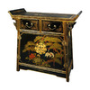 Oriental Furniture Lacquer Lacquer Rectangular China Cabinet
